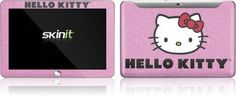 Skinit Hello Kitty Face Pink Vinyl Skin for Samsung Galaxy Tab 10.1 by Skinit. $23.99. IMPORTANT: Skinit skins, stickers, decals are NOT A CASE. Our skins are VINYL SKINS that allow you to personalize and protect your device with form-fitting skins. Our adhesive backing can be applied and removed with no residue, no mess and no fuss. Skinit skins are engineered specific to each device to take into account buttons, indicator lights, speakers, unique curvature and will no...