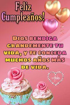 Happy Birthday Ecard, Happy Birthday Wishes Cards, Birthday Messages, Birthday Greetings, Happy Birthday In Spanish, Happy Birthday Photos, Birthday Clips, Birthday Parties, Birthday Cake