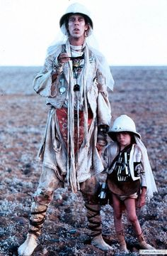 Mad Max - Beyond Thunderdome - Sky raider and son.