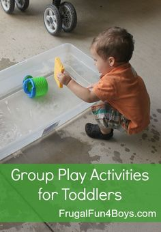 How we survived a week of VBS with toddlers.  These play ideas would work for playdates or any type of childcare setting!