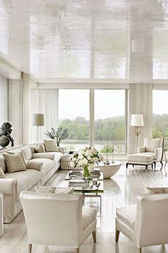 Reconsidering White Ceilings and 15 New Ideas to Try Instead; Directional Design Blog