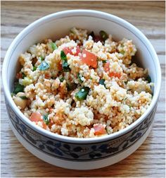 Healthy Chickpea Couscous Salad