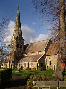All Saints in Kings Heath, Birmingham, UK #England #Birmingham