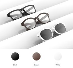 Vue comes in two styles of frames, classic and trendy. #smartglasses #vueglasses #newtech