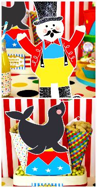 big top circus carnival party ideas party printables  $12