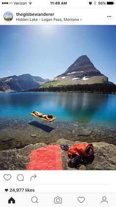 Hidden Lake, Logan Pass, Montana, USA
