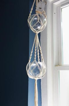 Braided Macramé Plant Hangers - The Estate of Things - 7
