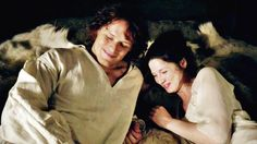 Jamie and Claire - Sorry I said I wouldn't laugh...