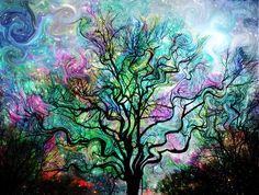 Van Gogh's Aurora Borealis
