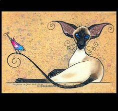 Suzanne Le Good...A Bird on the Tail...