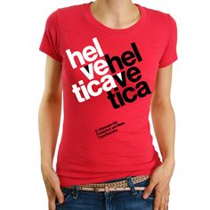 Swiss Typography Hal Ve Tica for Women by babbletees on Etsy, $18.00