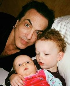 http://www.youtube.com/channel/UCqEqHuax3qm6eGA6K06_MmQ?sub_confirmation=1 I posted this before. So cute. Paul with his kids Colin Michael and baby Sarah Brianna. #paulstanley #heavymetal #rock #kiss #hardrock #music #makeup #starchild #hairmetal #theoneandonly #diva #songwriting #glammetal #songwriter #thestarchild #duckface #roses #guitarist #thegreatest #inspiration #kissarmy #makeupartist #kissband #tattoo #queen #kissmusic #kissnation #hero #idol #babe @paulstanleylive by…