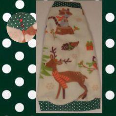 """Christmas Fleece """"Old Fashioned Christmas"""""""
