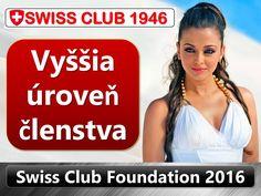 Končí sa registrácia do SWISS CLUB