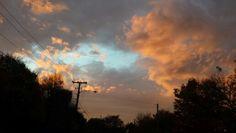 Sunset after the rain... Rumford, RI