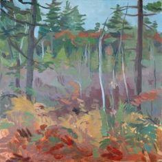 "Saatchi Art Artist France Hilbert; Painting, ""Kitteredge Road, Mount Desert Island"" #art"