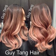 Rose Gold Ombre Hair - Bing Images