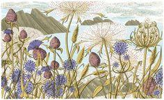 Island Summer :: Angie Lewin