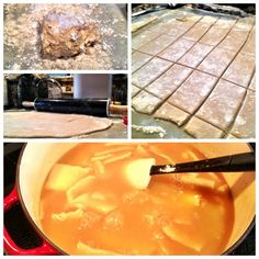 Southern Style Chicken & Dumplings {My Life as a Mrs} - flat dumpling recipe.  Not a fan of the biscuit mounds...