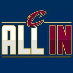 All In!!! CLEVELAND CAVALIERS! !! #NBAFINALS #Lebron #akronkid