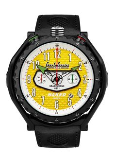 WANTED! The Naked Bike Watch. All Black version, Yellow Dial. Limited Edition. www.motorbikerswatches.com