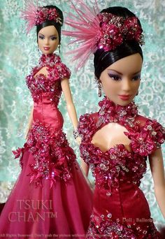 Looking for Collectible Barbie Dolls? Shop the best assortment of rare Barbie dolls and accessories for collectors right now at the official Barbie website! Barbie Gowns, Barbie Dress, Barbie Clothes, Fashion Royalty Dolls, Fashion Dolls, Glamour, Poppy Doll, Barbie Mode, Pink Doll