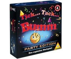 Piatnik 648366 - Tick Tack Bumm Party Edition Ticks, Party, Lunch Box, Amazon, Christmas, Products, Puns, Joy, Yule