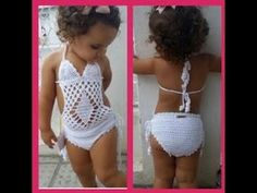 """Short infantil 1 á 2 anos pass More Than Women Worldwide Have Been Successful in Treating Their Ovarian Cysts In Days, and Tackle The Root Cause Of PCOS Using the Ovarian Cyst Miracleâ""""¢ System! Here is a crochet swimsuit tha Here is a crochet swimsu Crochet Girls, Crochet Baby Clothes, Crochet For Kids, Knit Crochet, Short Infantil, Top Infantil, Baby Baden, Crochet Videos, Monokini"""