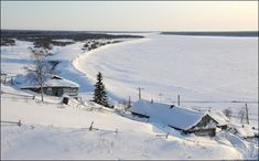 Snowy views of Komi Republic and Nenets autonomous okrug in Russia were captured by Frederick Taer