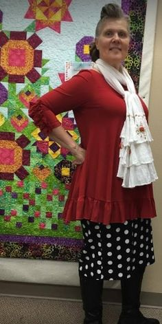 6c8fd67c3 Rene's Creations Original Ruffle top in Sizes: S-3X. Available in 5 Colors!  www.renescreations.com!