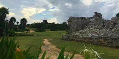 visiting the tulum ruins