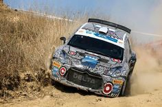 Citroen DS3 R5 rally car