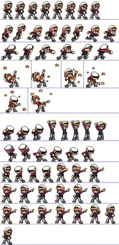 1000 Images About Art Game Sprites On Pinterest