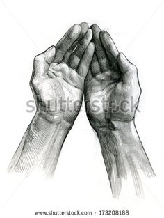 pencil sketches of hands - Google Search