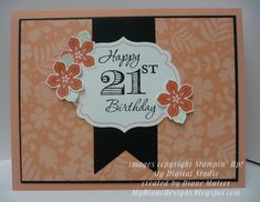 Memorable Petals by Diane Malcor - Cards and Paper Crafts at Splitcoaststampers