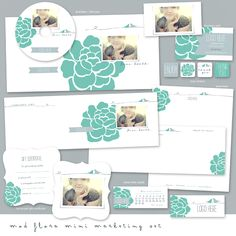I like the simplicity and coloring of this...and idea for H's birth announcements