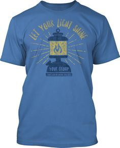 Lantern Summer Camp Church T Shirt Design