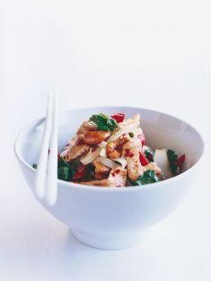 chilli cashew chicken noodles