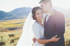 Tony + Leslie, Photo by Keala Jarvis, Gown by Gateway Bridal #utahvalleybride #utahwedding #bridalphotos #utahmountainbridals #modestweddingdress
