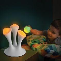 The Take With You Nightlight Orbs - Hammacher Schlemmer #HammacherHolidays VERY sweet and VERY unique!
