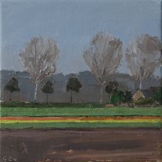 Early spring (20 x 20 cm)