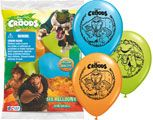 The Croods Printed Latex Balloons 6pk