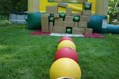 Angry Birds Balls and Life Sized Game