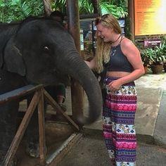 Spent #worldelephantday meeting my favourite animal  I'm in awe of these beautiful creatures..  #phuket #siamsafari by dagmarhopfe
