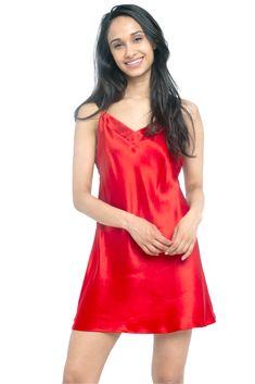 MYK Silk - Soft Silk Chemise for Women - Summer Essential Sleepwear Silk Sleepwear, Sleepwear Women, Silk Slip, Satin Slip, Silk Chemise, Nightgowns For Women, Cheap Wedding Dress, Wedding Dresses, Mulberry Silk