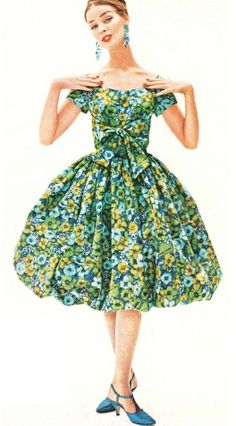 50's bubble dress