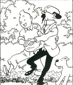 Hergé - we're going to see Chang again.