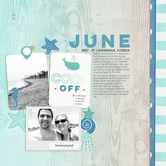 June - Message in a Bottle cards, essentials, papers, and stickers #scrapbook #digiscrap #marikoegelenbergcreations #digitalscrapbooking #scrapbook @MDAStudio