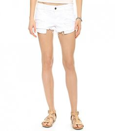 The 12 Best White Denim Pieces To Buy This Summer via @WhoWhatWear Siwy Madeline Cutoff Shorts ($143)  White shorts always make your legs look a bit more bronze, right? We think so!