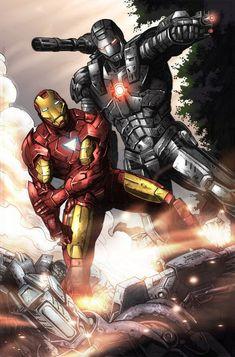 Ironman avengers forever war machine iron man, marvel и iron Marvel Heroes, Marvel Characters, Marvel Cinematic, Marvel Avengers, Comic Book Heroes, Comic Books Art, Comic Art, Bd Comics, Marvel Comics Art